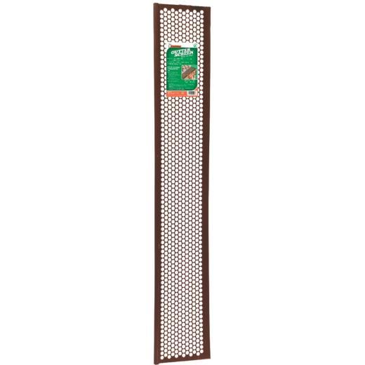 Frost King 3 Ft. Brown Vinyl Snap-In Gutter Screen