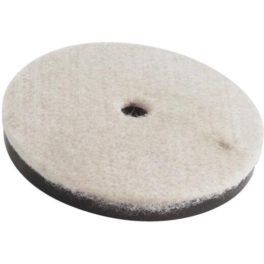 Do it 2-1/2 In. Round Felt & Plastic Furniture Glide,(4-Pack)