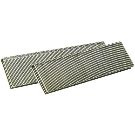 Senco AccuSet 18-Gauge Galvanized Medium Wire Finish Staple, 1/4 In. x 1-1/8 In. (5000 Ct.)