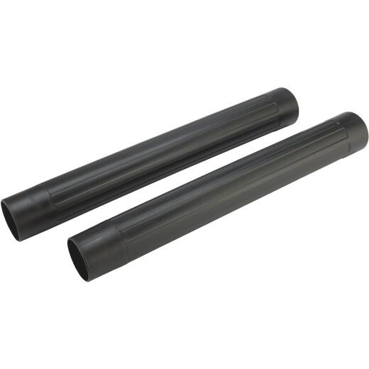 Channellock 2-1/2 In. x 18 In. L. Plastic Wet/Dry Vacuum Extension Wand (2-Pack)