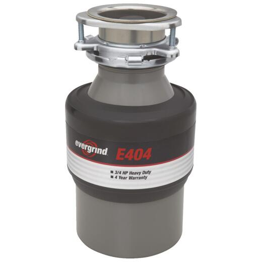 Evergrind 3/4 HP Garbage Disposal, 4 Year Warranty