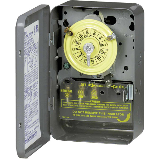 Intermatic 125V 40A 4000W DPST Timer