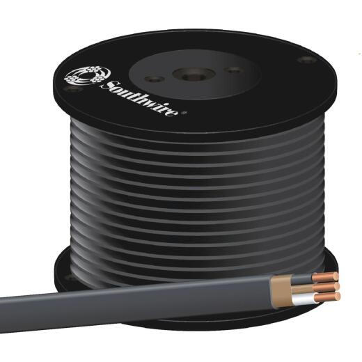 Romex 500 Ft. 6-2 Solid Black NMW/G Wire