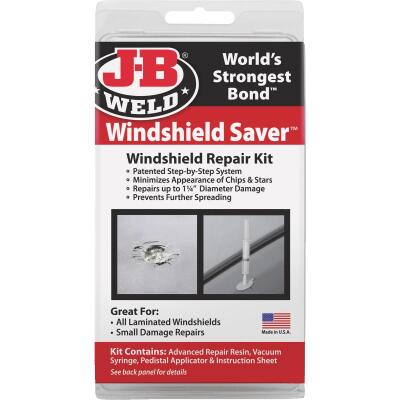 J-B Weld Windshield Saver Windshield Repair Kit