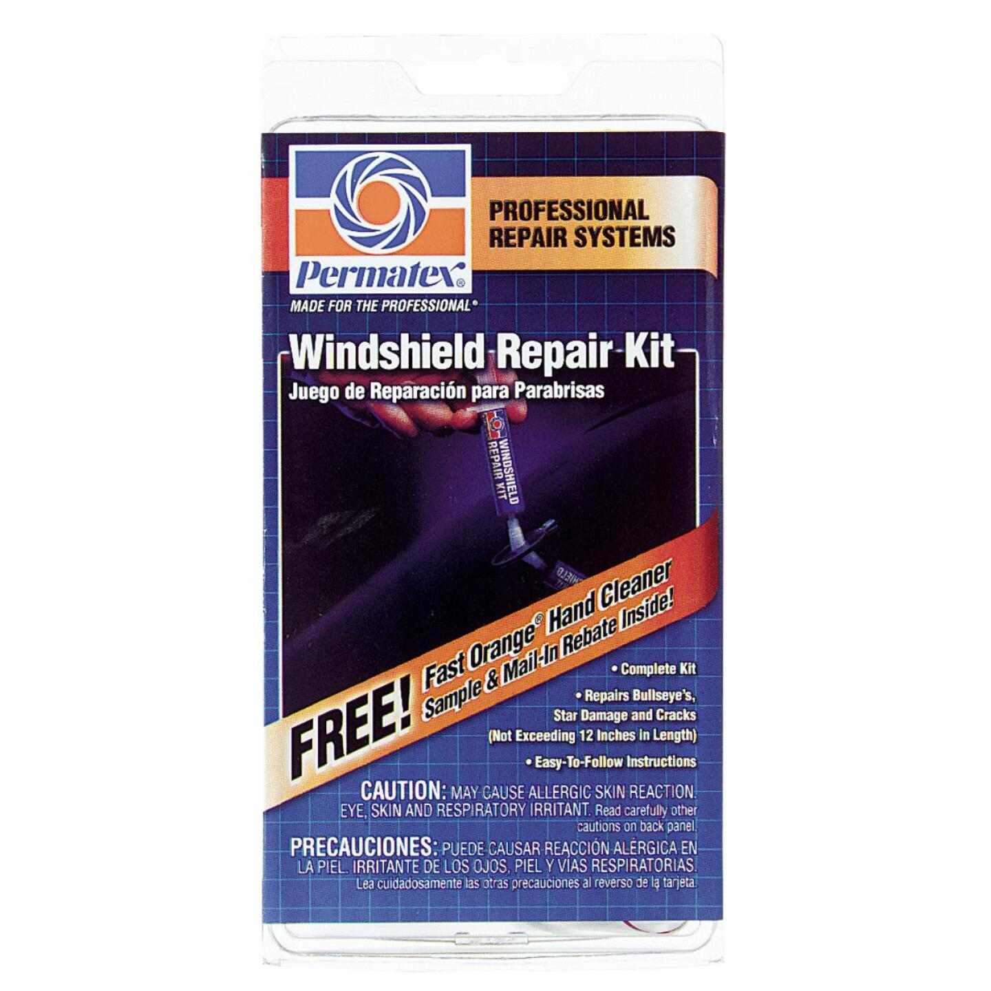 PERMATEX Windshield Repair Kit Image 1