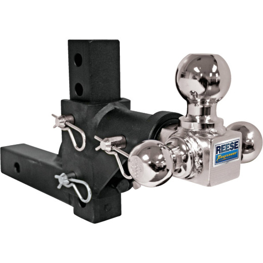 Reese Towpower Adjustable Rotating Multiple Hitch Ball Mount