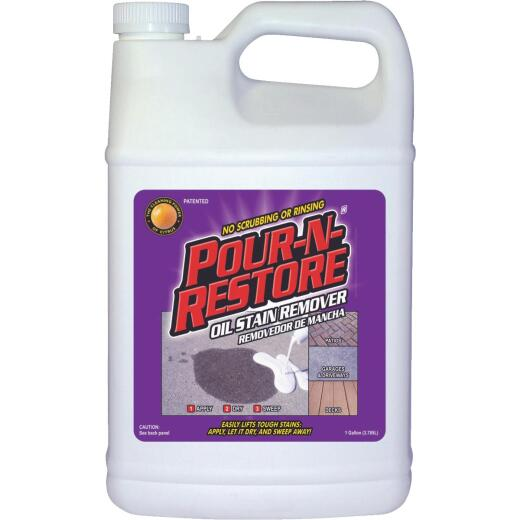 Pour-N-Restore 1 Gal. Concrete And Masonry Oil Stain Remover