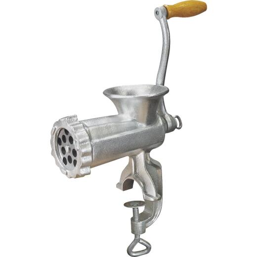 Weston #8 Deluxe Manual Heavy-Duty Meat Grinder (Tinned)