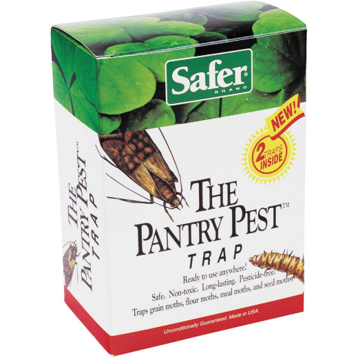 Safer The Pantry Pest Glue Moth Trap (2-Pack)