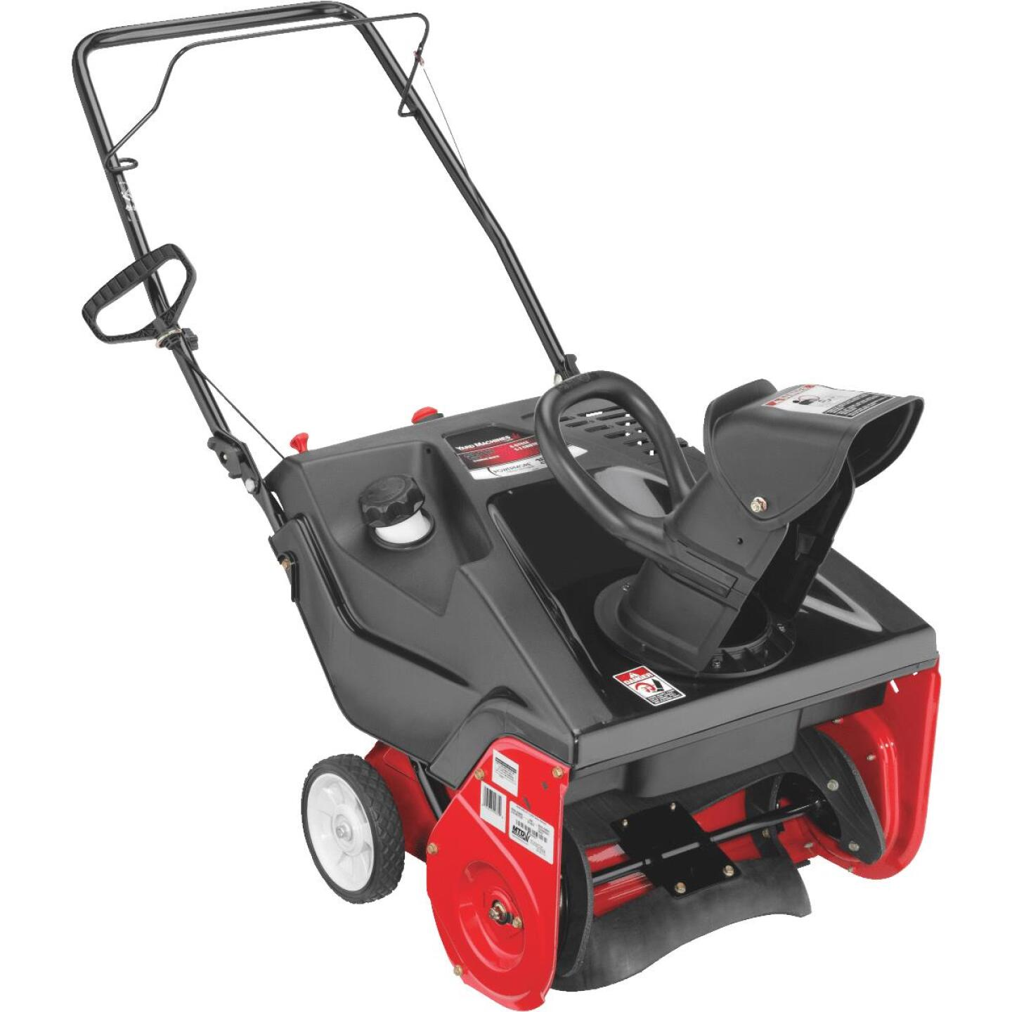 Yard Machines 21 In. 123cc Single-Stage Gas Snow Blower Image 1