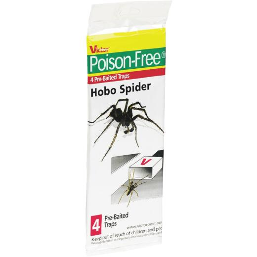 Victor Indoor Glue Hobo Spider Trap (4-Pack)