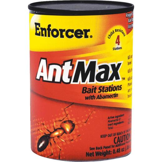 Enforcer Ant Max 0.48 Oz. Solid Ant Bait Station (4-Pack)