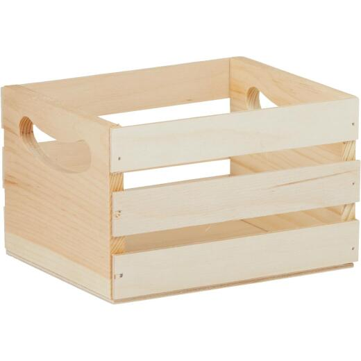 Walnut Hollow Mini Unfinished Wood Crate