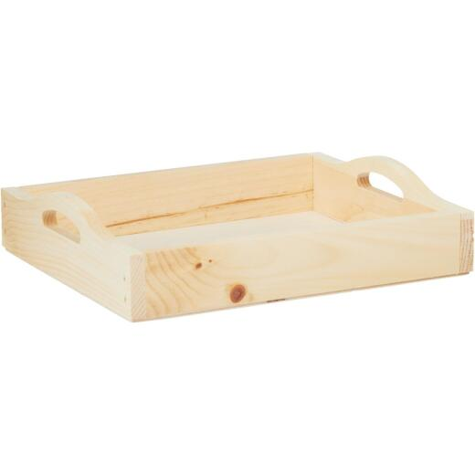 Walnut Hollow 10 In. x 12 In. Unfinished Wood Tray