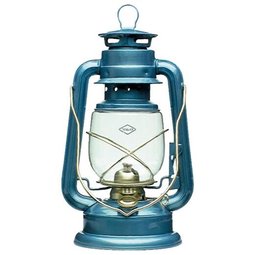 21st Century Camper 12 In. Blue Liquid Fuel Lantern