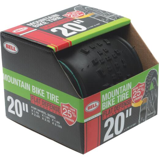 Bell 20 In. Mountain Bike Tire with Flat Defense