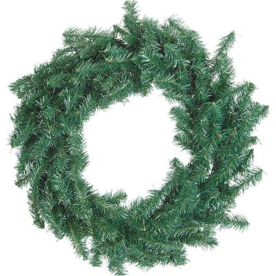 Gerson 30 In. Canadian Pine Artificial Wreath