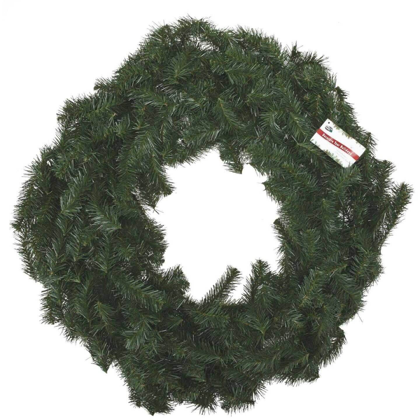 Gerson 36 In. Canadian Pine Artificial Wreath Image 2