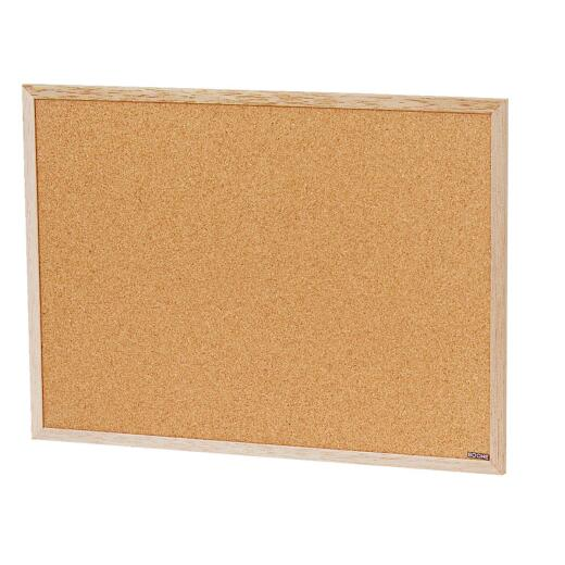 The Board Dudes 23 In. x 17 In. Cork Bulletin Board